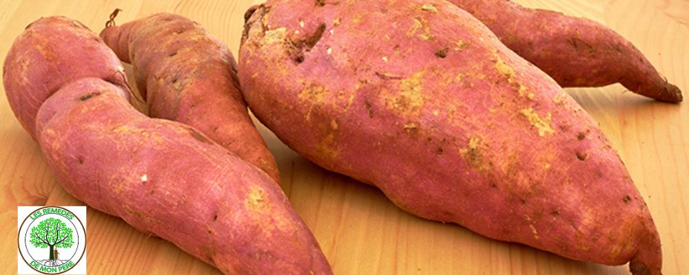 Les bienfaits de la patate douce